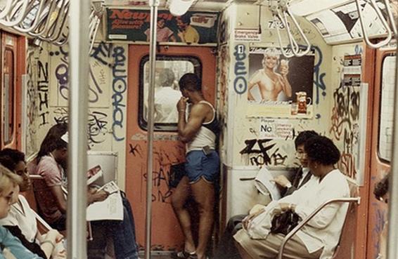 vintage new york subway