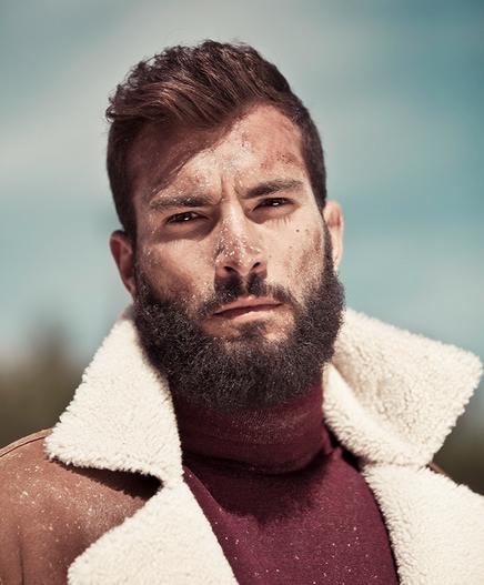 beards and fecal matter