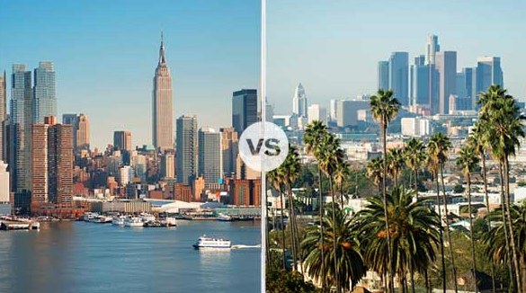 new york versus la