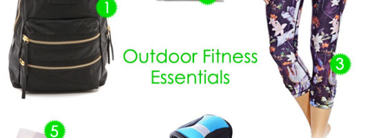 The Chicest Outdoor Fitness Essentials