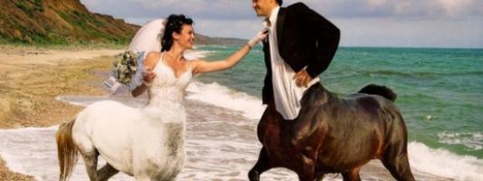 weird russian wedding photos