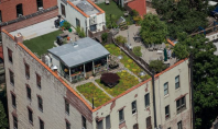 manhattan rooftop cabin