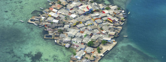 most crowded island on earth