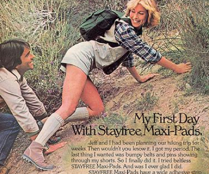 maxi pads funny