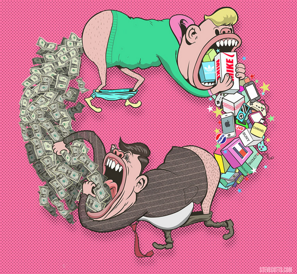 steve cutts art