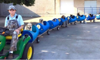 rescue dog train