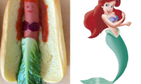 disney princess hot dogs