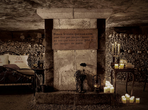 catacombs airbnb