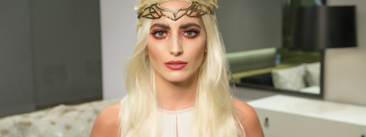 DIY Game of Thrones Halloween Makeup