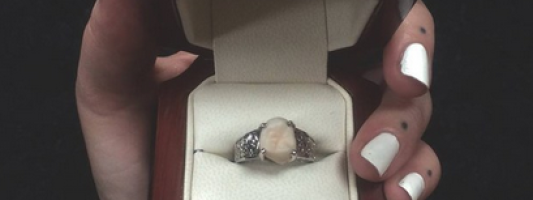 tooth engagement ring