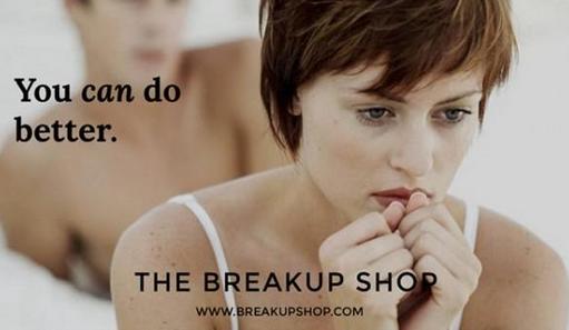 the breakup shop