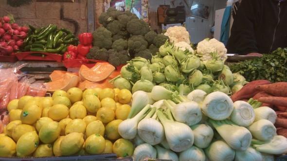 local israeli produce
