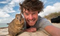 hot guy animal selfies