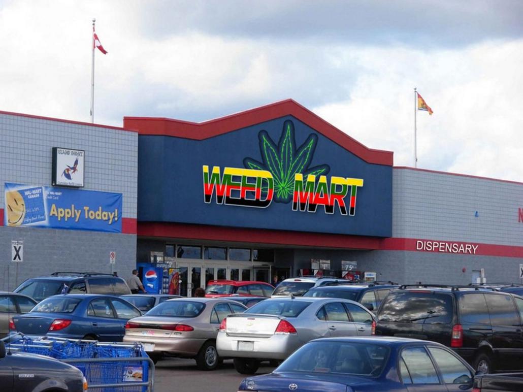 marijuana mall
