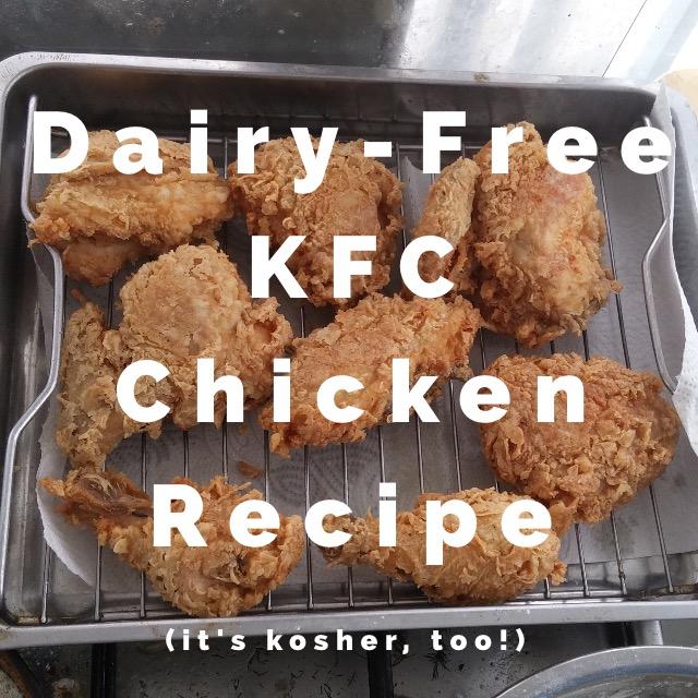 dairy-free kfc fried chicken recipe
