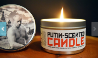 vladimir putin scented candle