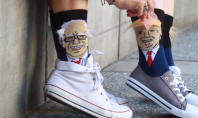 Trump or Bernie Sanders Socks: You Decide