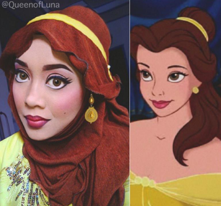 Disney makeup