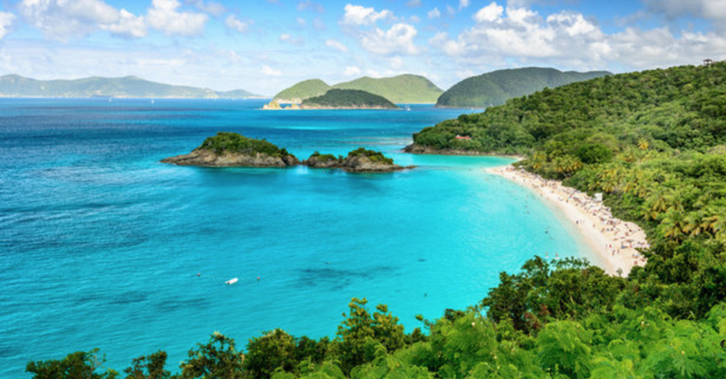 trunk bay secret beach