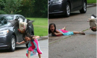 Goose Attacks a Five Year Old Girl, and it Goes Viral