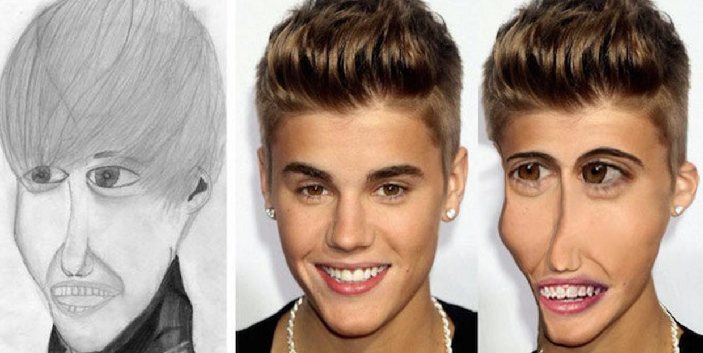 celebrity fan art photoshop