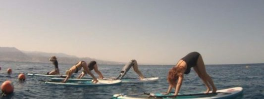 Cool Alert: Paddleboard Yoga in the Red Sea