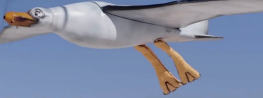 nivea robot seagull
