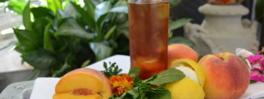 The Best Peach Iced Tea Recipe Ever Comes From New Jersey
