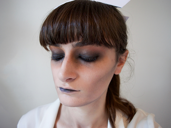 DIY Zombie Nurse Halloween Makeup Tutorial | The Luxury Spot