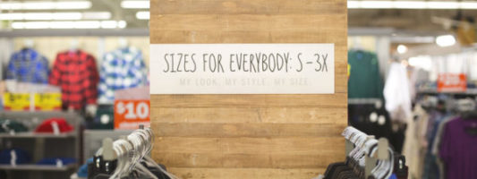 Finally, A Women's Fashion Retailer Groups Regular and Plus Size Together