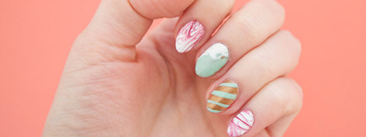 DIY Nail Stickers You Can Easily Make at Home
