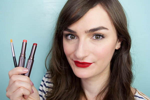 How to mix lipsticks properly for endless color options.
