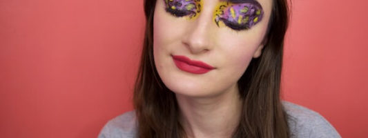 DIY Lisa Frank Makeup