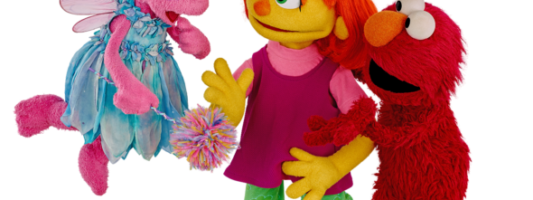 Julia from Sesame Street, First Autistic Muppet, Visits Sesame Place
