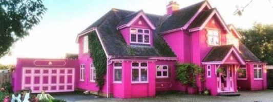 This Real Barbie House is on Airbnb