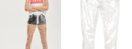 Topshop Released Completely See Through Pants, We Wonder Why