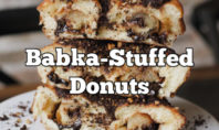 Chocolate Babka-Stuffed Donuts Exist, Not Fake News