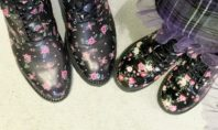 Hi, These Mommy and Me Floral Boots are Everything
