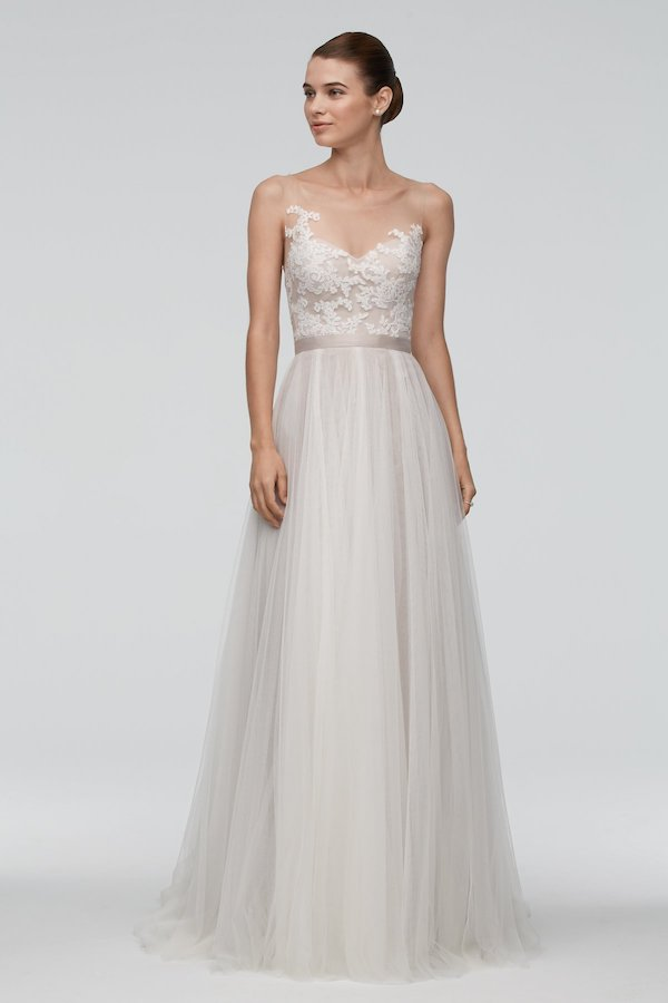 Top wedding dress designers for beach weddings the luxury spot beachy brides should check out the rebecca ingram olivia collection or the sottero and midgley malone collection for light and breezy beach dresses junglespirit Gallery