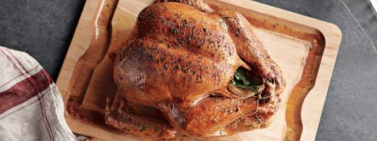 Williams Sonoma is Offering 40% Off Brined Turkeys Right Now