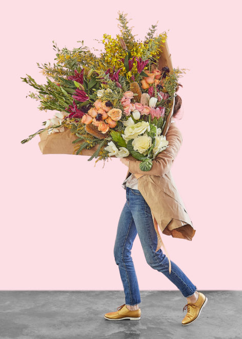 This big bouquet of flowers is potentially bigger than you for Biggest bouquet of flowers